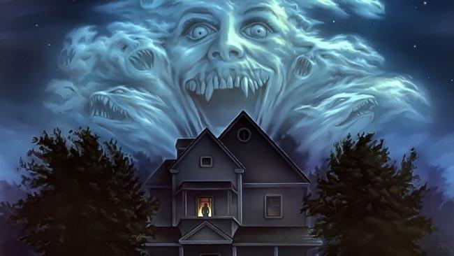 Ilustración de 'Noche de Miedo' dirigida por Tom Holland. 1985