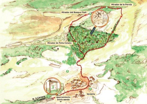 Senda «el Roblón de Estalaya» en la montaña palentina