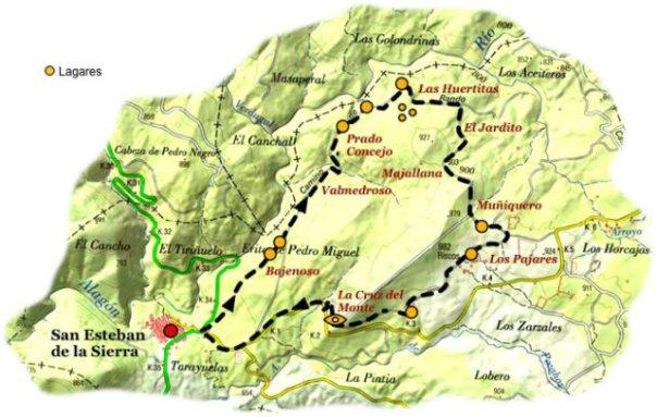Ruta de los lagares rupestres en Salamanca - Fuente: http://www.terranostrum.es