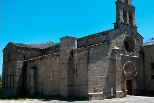 Iglesia del monasterio de San Martín de Castañeda - Imagen de Románico zamorano