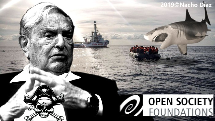 George Soros's Pirate Fundation