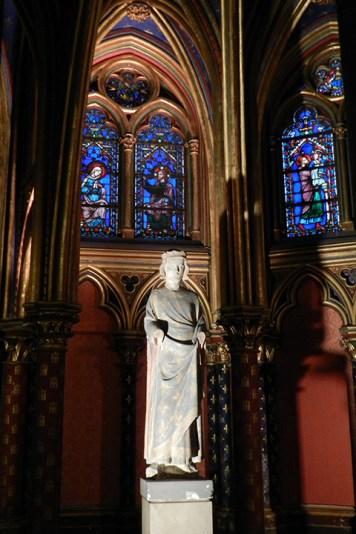 Imagem de São Luís, na Sainte-Chapelle