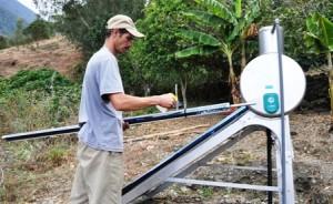 este equipo provee de agua caliente a la Mucuposada Las Hortensias