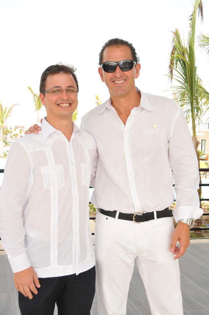 Andrés Del Pino y Carlos Del Pino