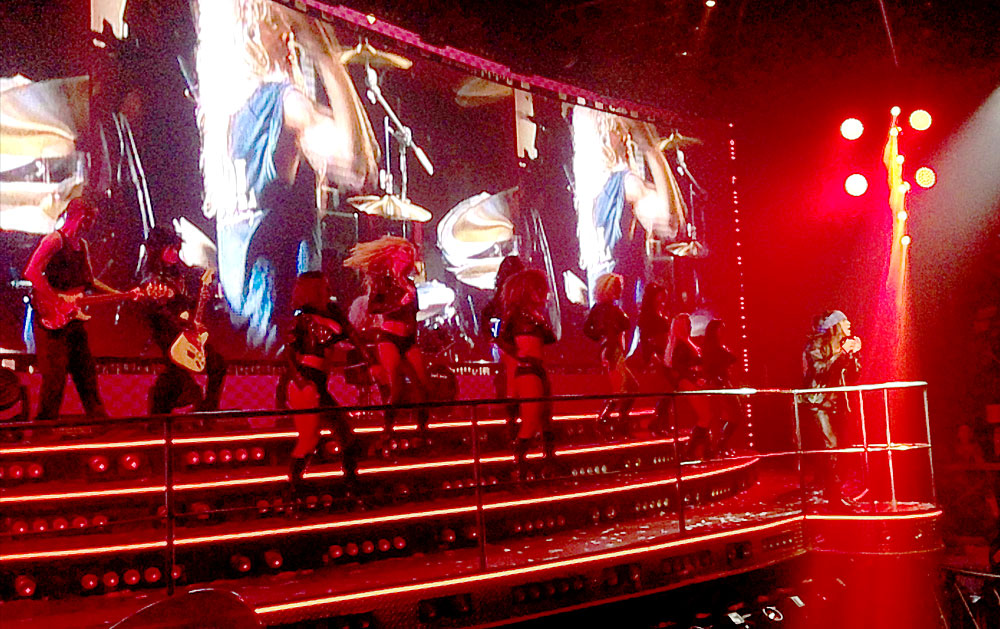 Tributo a Guns N' Roses en el Coco Bongo Show & Disco