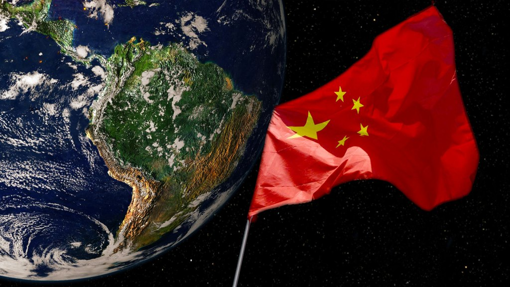 La Bandera China flota sobre América Latina