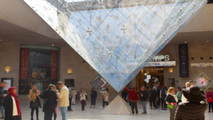 Hall Napoléon, Musée du Louvre