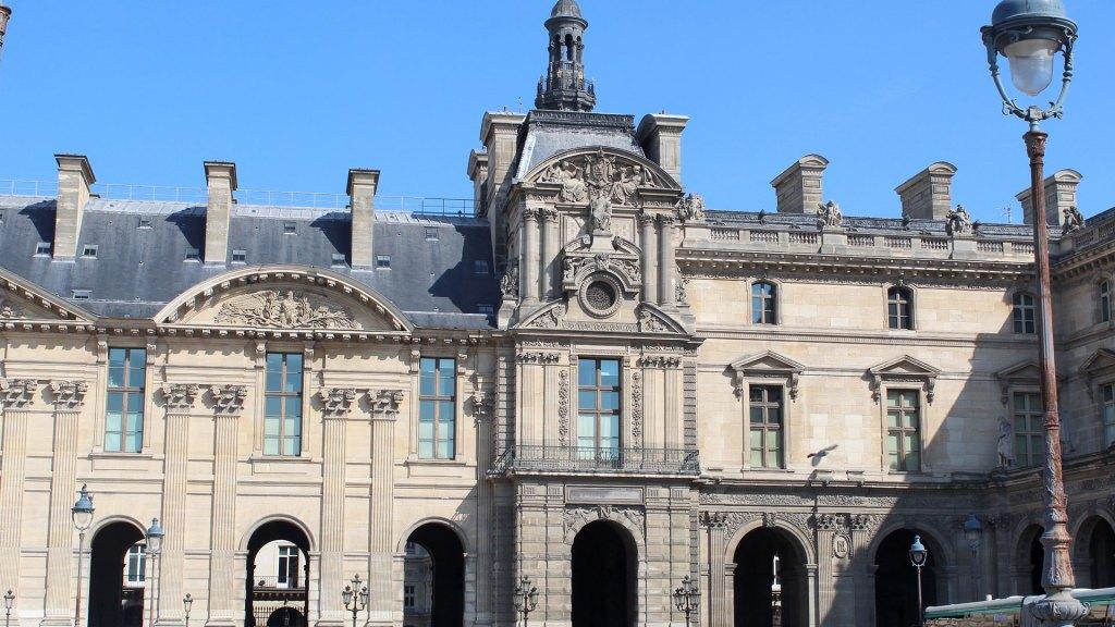 Pavillon de Rohan, Musée du Louvre