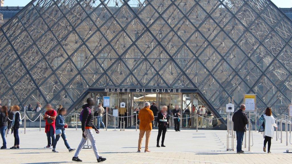 Entrance, Musée du Louvre