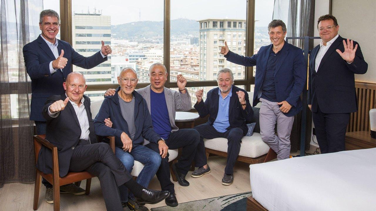 Jordi Mestre, Trevor Horwell, Meir Teper, Nobu Matsuhisa, Robert de Niro, Ramon Borrell y Struan McKenzie inaugurarán Nobu Hotel Barcelona en septiembre
