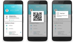 Prototipo canadiense del app de la Known Traveller Digital Identitity (Foto: Foro Económico Mundial)