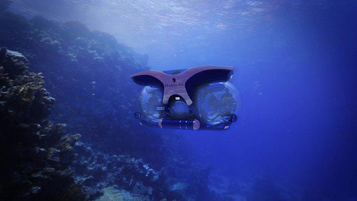 Seabourn presenta submarinos personalizados U-Boat Worx Cruise Sub 7 para llevar a sus viajeros Expedition en excursiones bajo el agua