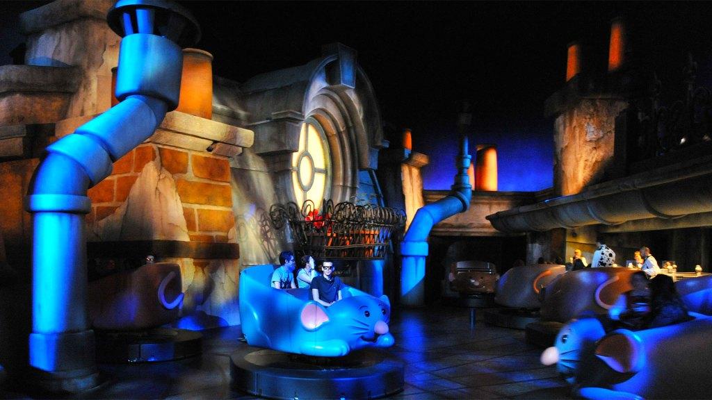 La atracción Remy's Ratatouille Adventure de Disney Hollywood Studios en Disneyland París (Foto: Disney)