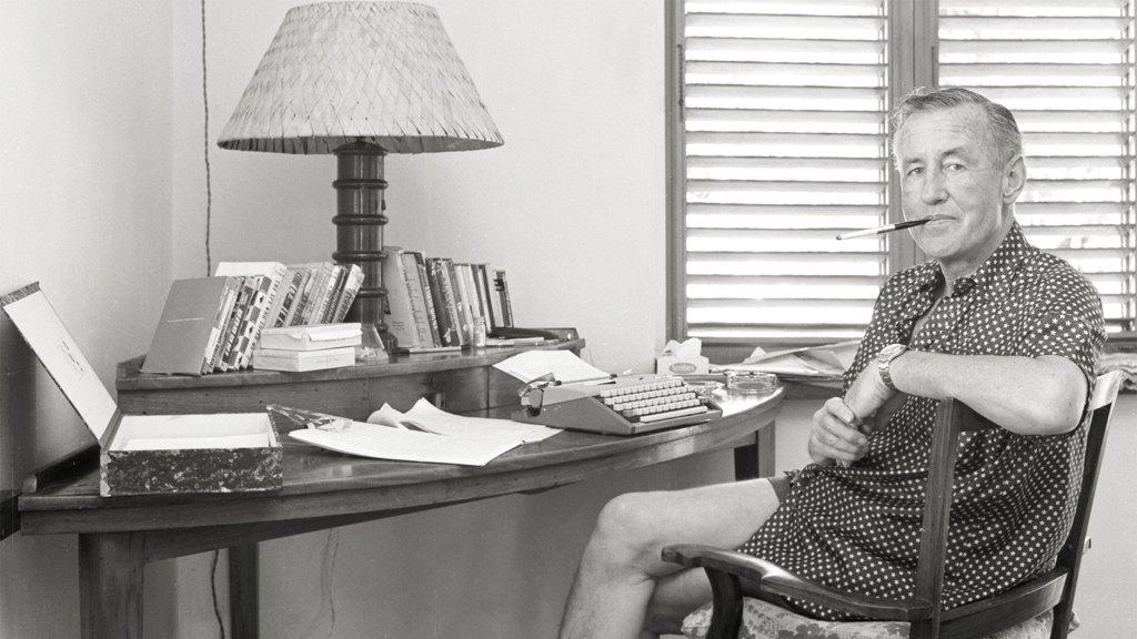 Ian Fleming en Goldeneye (Foto: Island Outpost)