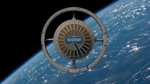 Imagen conceptual del Puerto Espacial Gateway (Foto: Fundación Gateway)