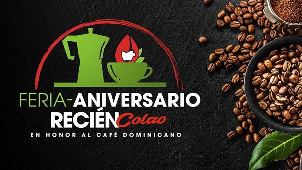 Feria-Aniversario Recién Colao en Honor al Café Dominicano