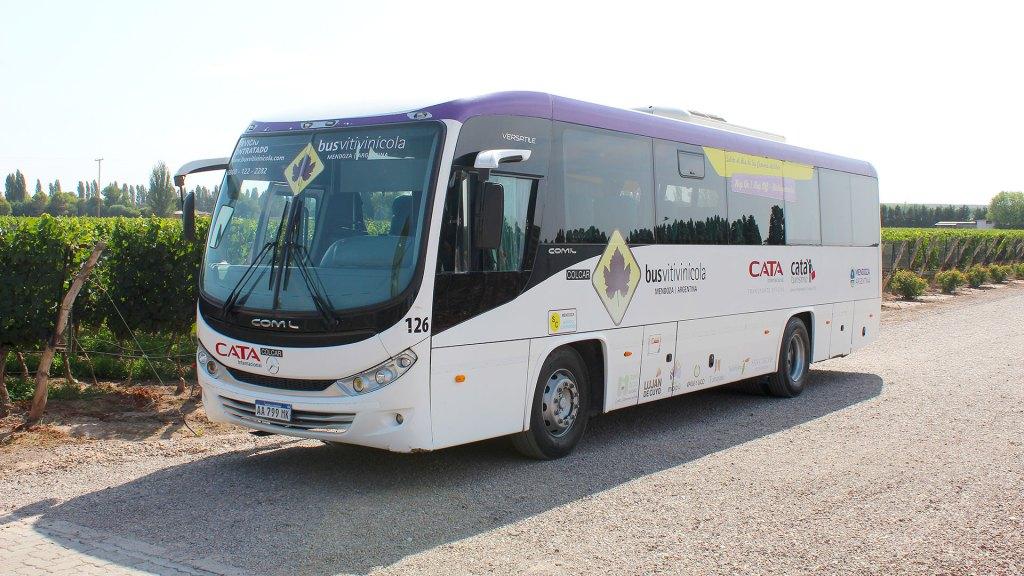 Bus Vitivinícola, Mendoza
