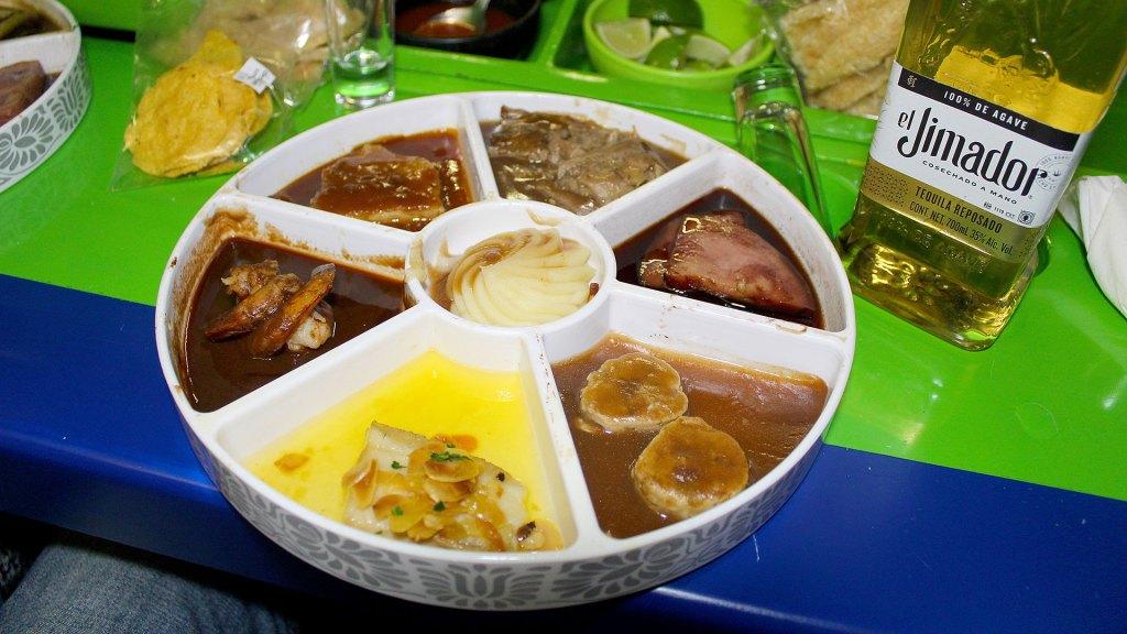 Comida a bordo | Meal on board