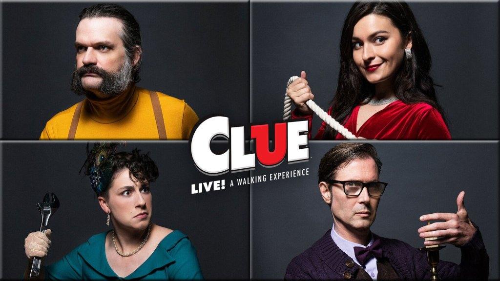 CLUE! Live: A Walking Experience | CLUEDO: Experiencia en Vivo (Right Angle Entertainment / Hasbro)