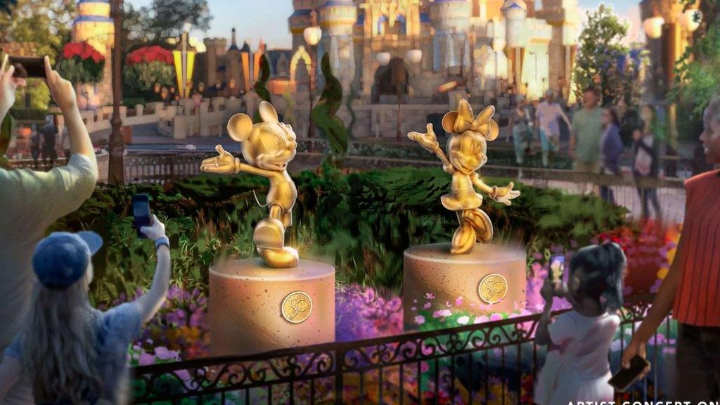 Disney Fab 50 Character Collection, Walt Disney World Resort