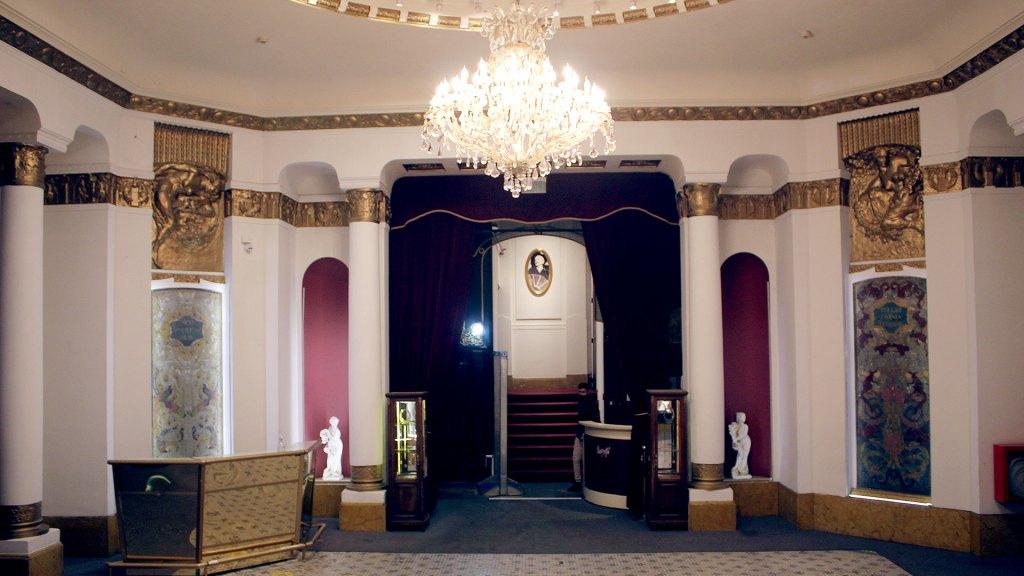 Lobby del complejo Palacio Tango