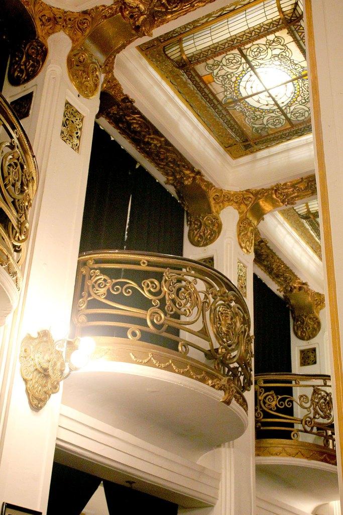 Balcón de la sala Tango Carlos Gardel