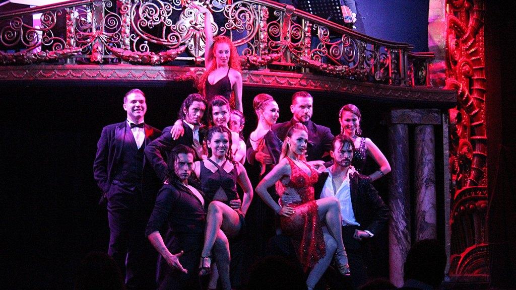 Los artistas tras Palacio Tango se despiden del público