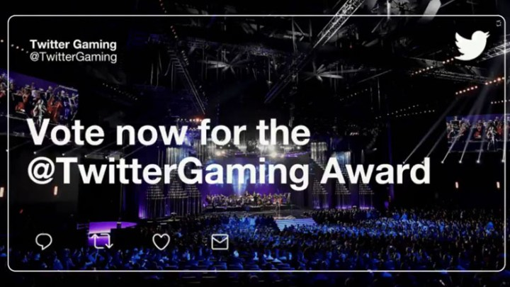 Vota y dale play a The Game Awards en Twitter