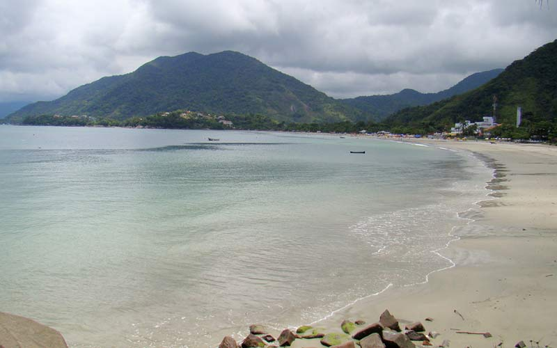Praia da Enseada Ubatuba SP