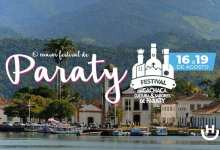 Curta o 36º Festival da Cachaça, Cultura e Sabores de Paraty, de 16 a 19 de agosto de 2018