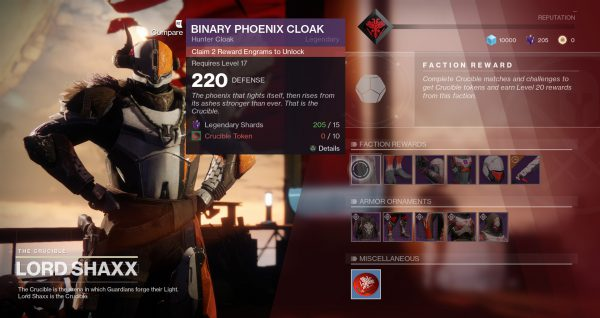 Destiny 2 December And New Year Armour Updates