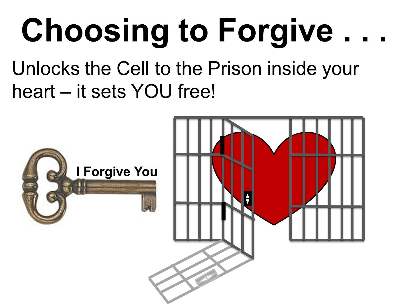 Forgiveness Key To Your Destiny