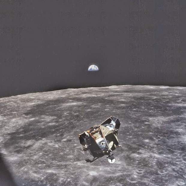 This-photo-was-taken-by-astronaut-Michael-Collins-when-he-took-this-photo-he-was-the-only-human-alive-or-dead