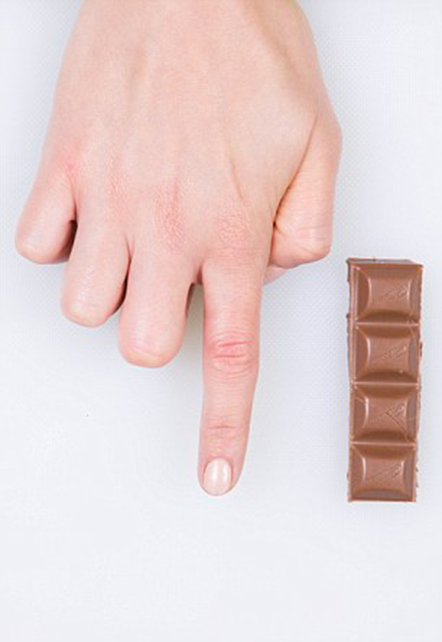 Dairy Milk Chocolate - feature on food portions