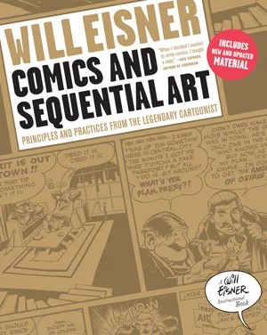 cover to will eisner's comics and sequential art
