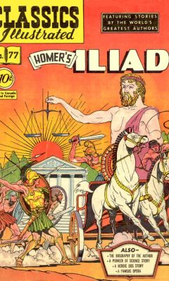 cover of the illiad #1 comic