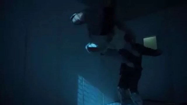 danny doing a double leg kick into some goon
