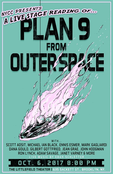 plan 9 from outer space flyer