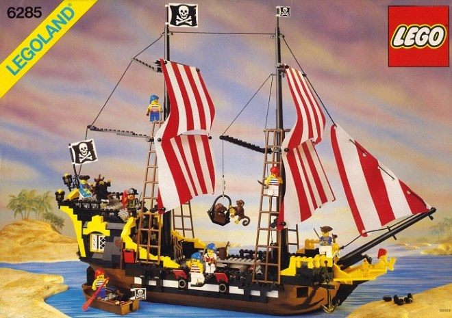 #RETROLEGO - Black Seas Barracuda 6285