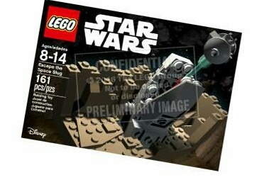 Lego Escape The Space Slug Exclusive Set