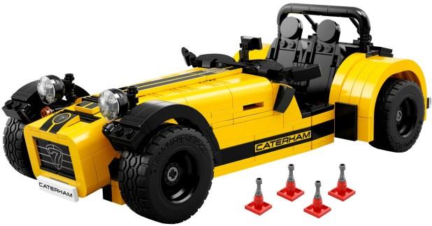 LEGO IDEAS 21037 Caterham Seven 620R Ufficiale