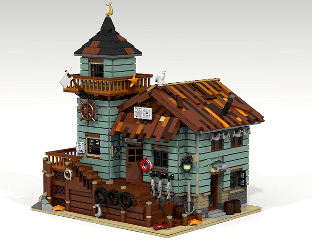 old fishing store