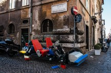larger-than-life LEGO progetto fotografico di Domenico Franco