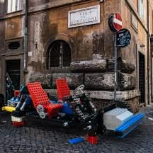 larger-than-life LEGO progetto fotografico di Domenico Franco