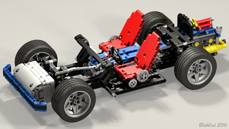 revival car chassis