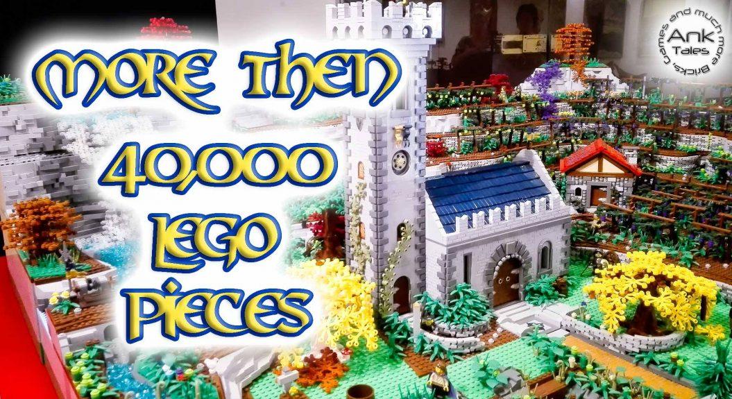 LEGO Castle Medieval Village MOC by Federico Ioriatti - Video AnkTales