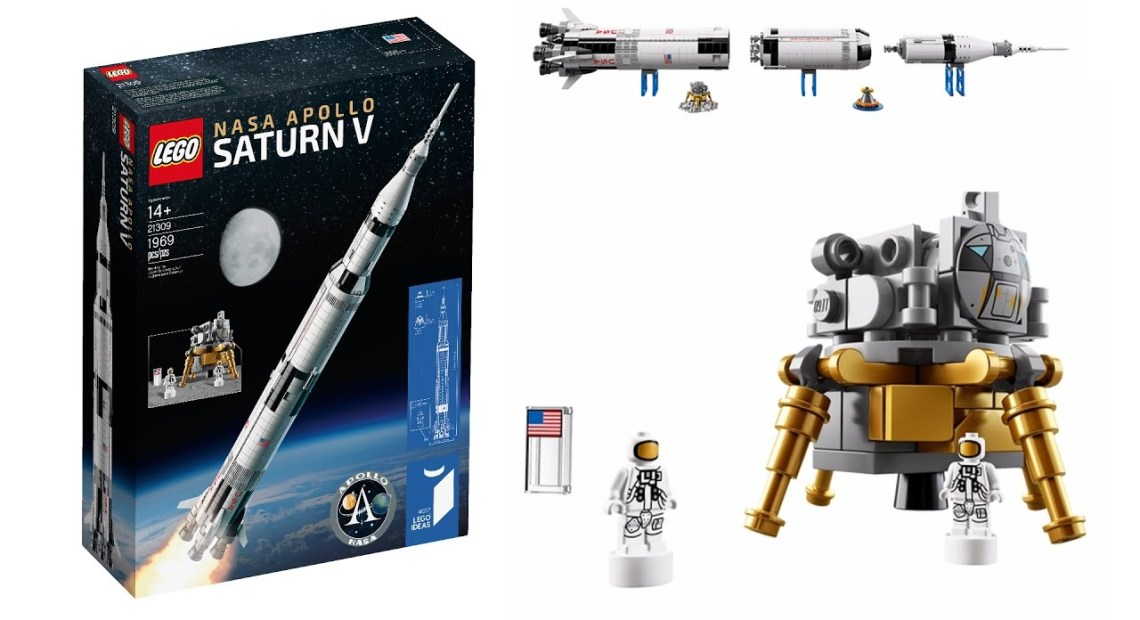 LEGO 21309 Saturn V Apollo NASA - Timelapse DTN