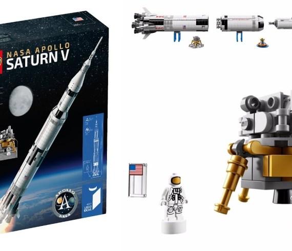 LEGO 21309 Saturn V Apollo NASA - Timelapse DTN