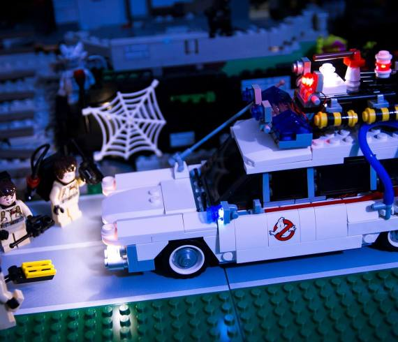 LED Light My Bricks kit Ghostbusters - Stop Motion by AnkTales