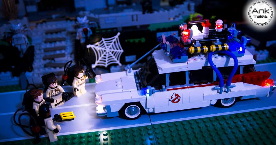 LED Light My Bricks kit Ghostbusters - Stop Motion by AnkTales